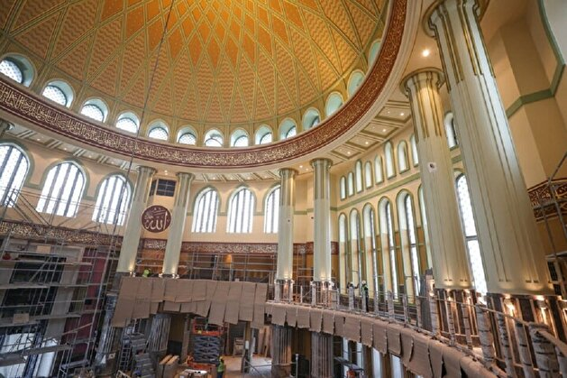 Istanbul's Taksim mosque nears completion ahead of Ramadan opening