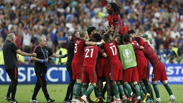 Eder attı Portekiz öne geçti