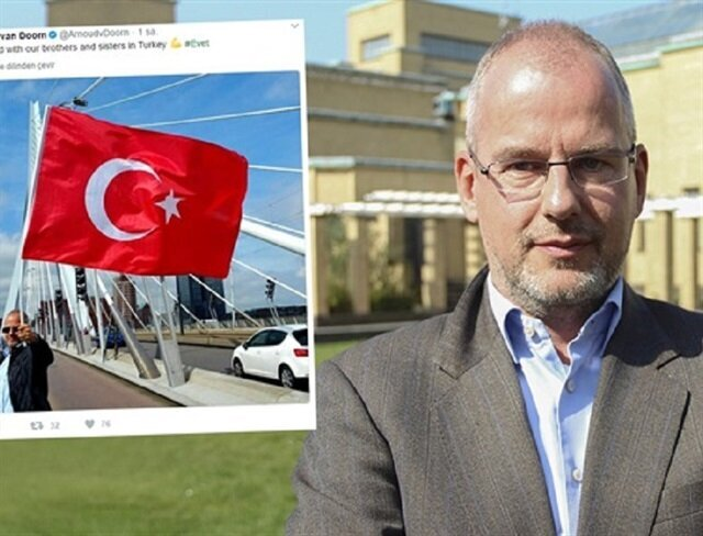 Dutch politician posts 'yes' message in support of Turkey's referendum