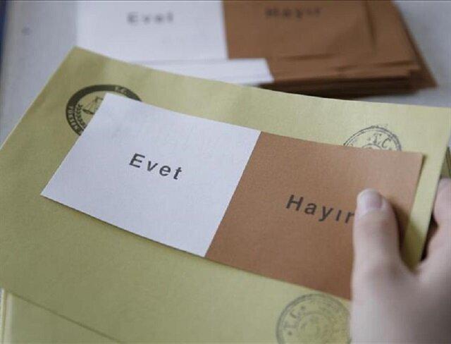 'Yes' votes ahead in Turkish referendum