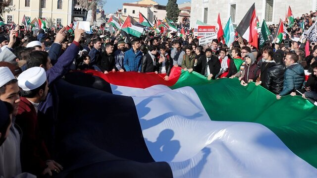The world protests Trumps decision to recognize Jerusalem as Israeli capital