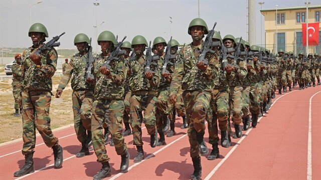 Somali cadets graduate from Turkish military academy