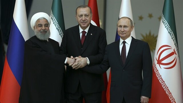Turkey-Russia-Iran Tripartite summit