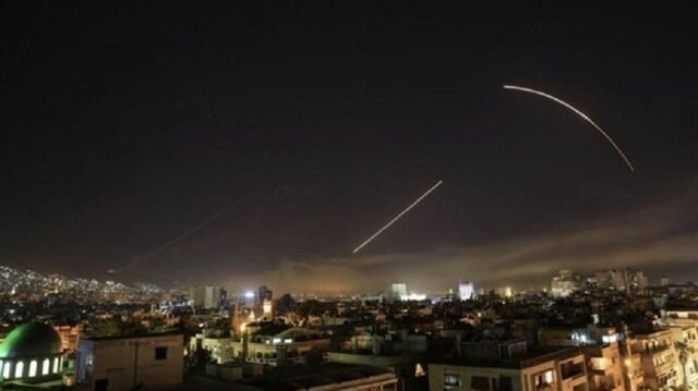 US-led strikes hit Syrian chemical targets