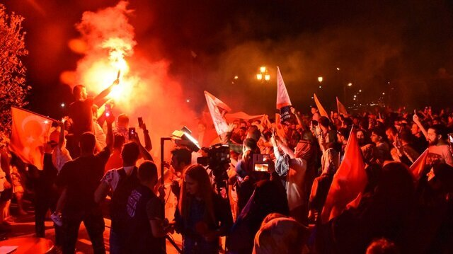 Turkey celebrates Erdoğan, AK Party election success
