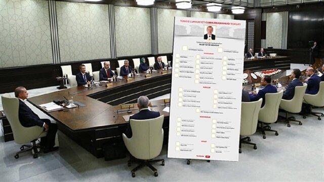 President Erdoğan announces new Turkish cabinet