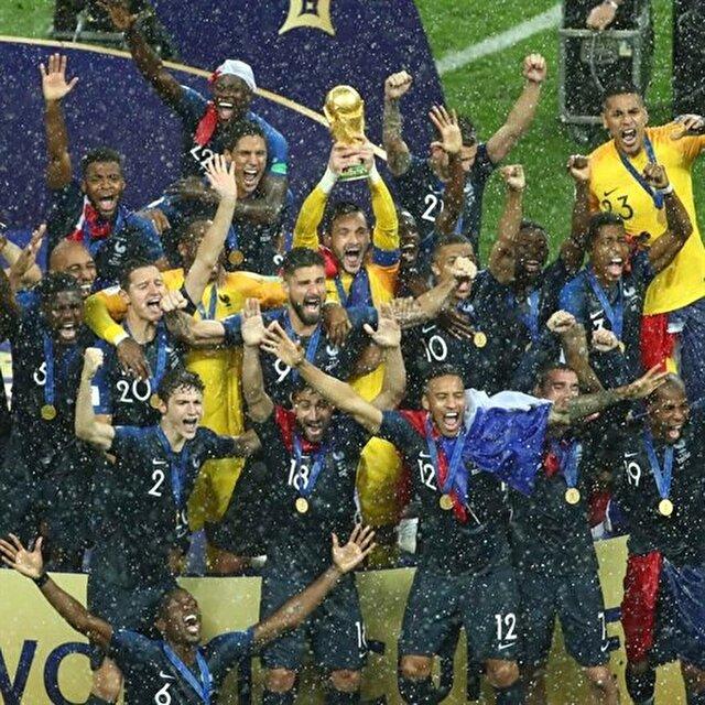 Altın jenerasyonun zaferi: 2018 Dünya Kupası