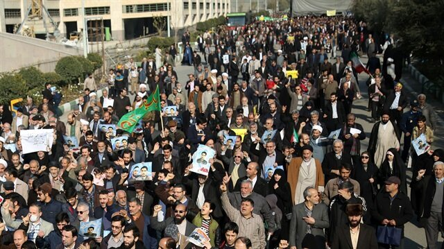 Iranians take to streets in capital over economic woes