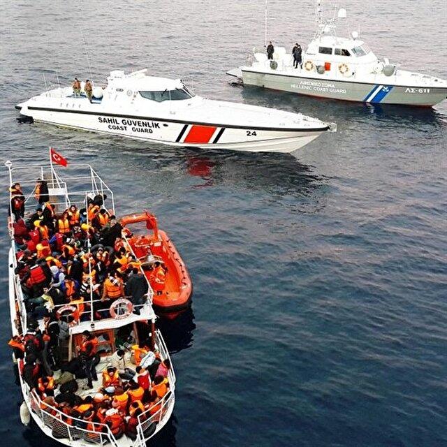 خفر السواحل التركي يضبط 183 مهاجرا غير قانوني غربي البلاد