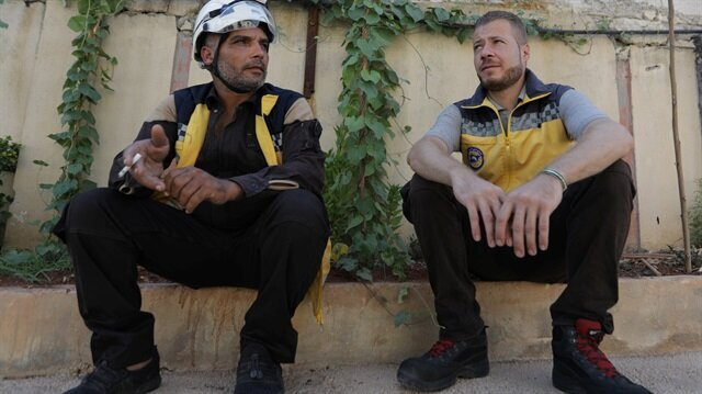 Driven from home, White Helmet rescuers start over in north Syria