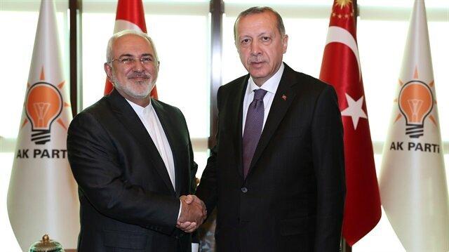 Erdoğan hosts Iranian FM in Ankara
