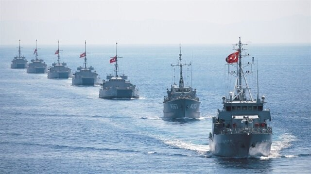 Turkish warships at the ready in East Med as Idlib battle looms