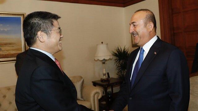 Turkish FM meets Chinese envoy, Iraqi Turkmen leader