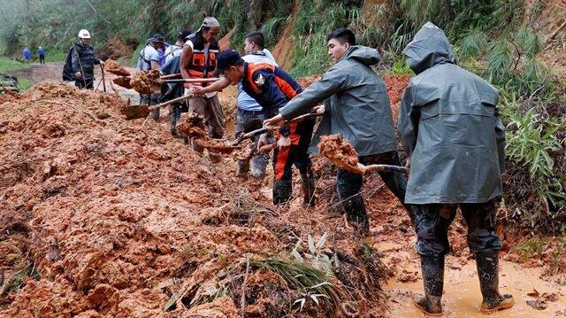 Landslide kills 30 miners in Philippines