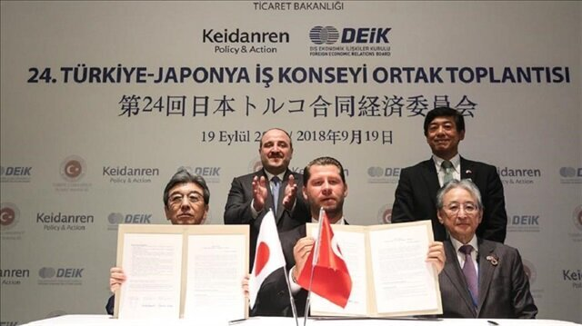 Turkey aims for free trade deal with Japan in 2019