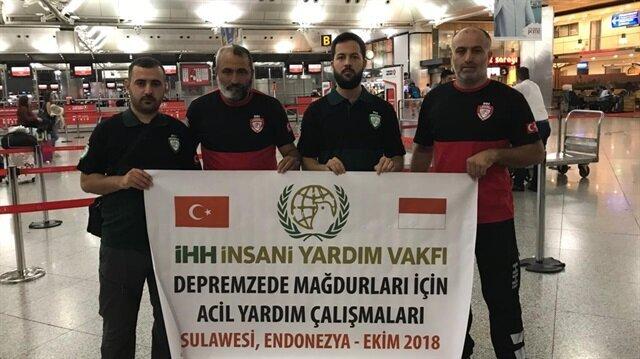 Turkish aid agency sends team to quake-hit Indonesia
