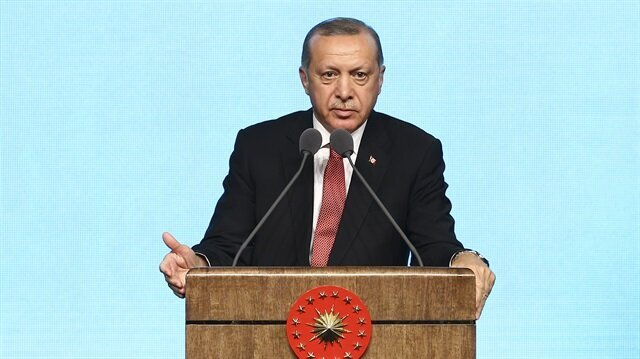 Turkey to continue resolute anti-terror fight: Erdoğan