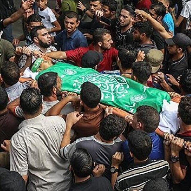 198 martyred by Israel since Gaza protests began
