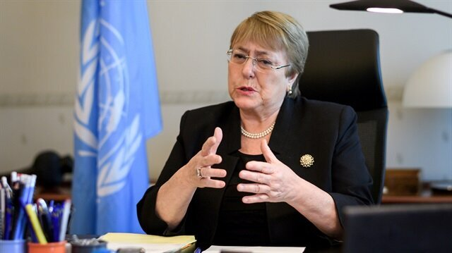 UN rights chief Bachelet calls for lifting of immunity in Khashoggi case