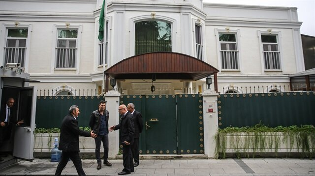 Saudi investigation team arrives at consul's Istanbul residence