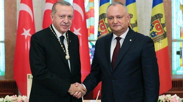 Erdoğan says Turkey expects full support from Moldova against FETÖ terror group