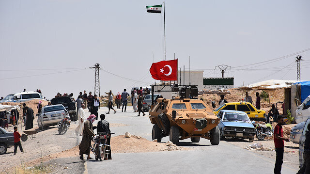 Turkish, US forces start joint patrols in Syria's Manbij