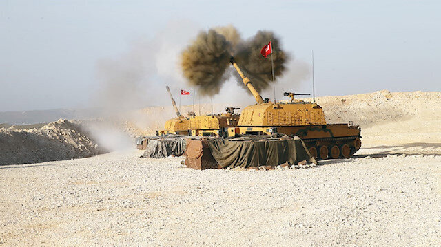 PKK terrorists accelerate weapons deliveries to Syria's Tal Abyad as Turkey begins strikes