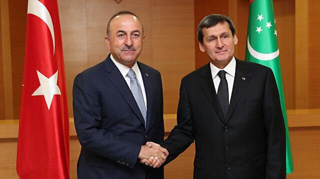 Turkey eyes promoting ties with Turkmenistan: FM