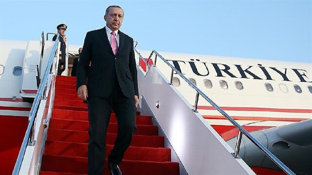 Erdoğan sets off to attend WWI tribute in France