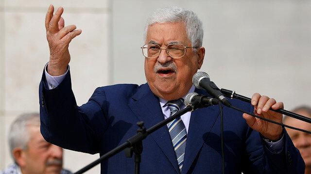 Palestine's Abbas condemns Israeli aggression on Gaza
