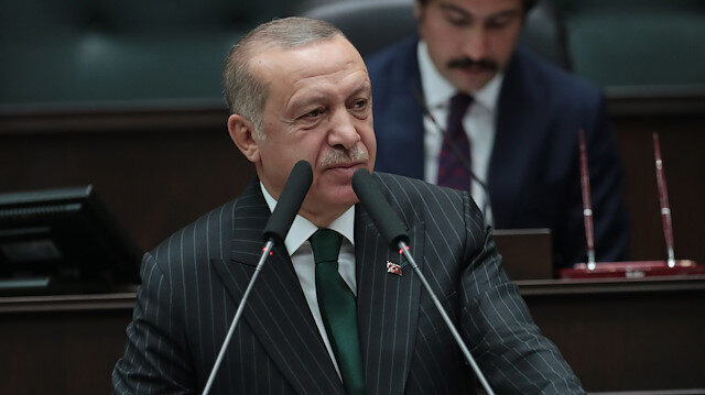 Erdoğan blasts countries that support PKK but not its victims
