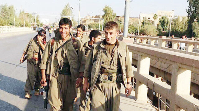 PKK terror group increases presence in Iraq's Kirkuk with Israeli support