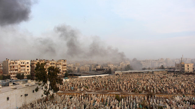 Damascus dropped 'thousands' of barrel bombs in 2018