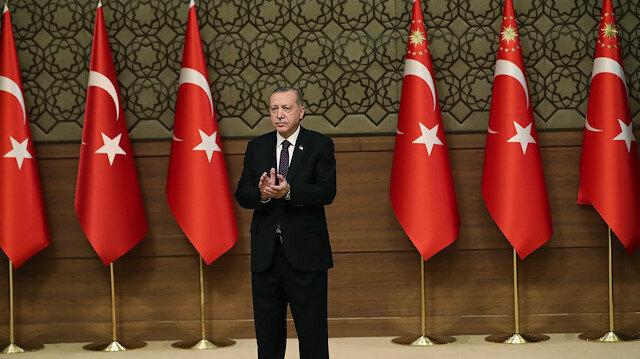Erdoğan marks Working Journalists' Day