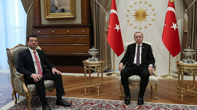 Erdoğan meets CHP's mayoral candidate for Istanbul