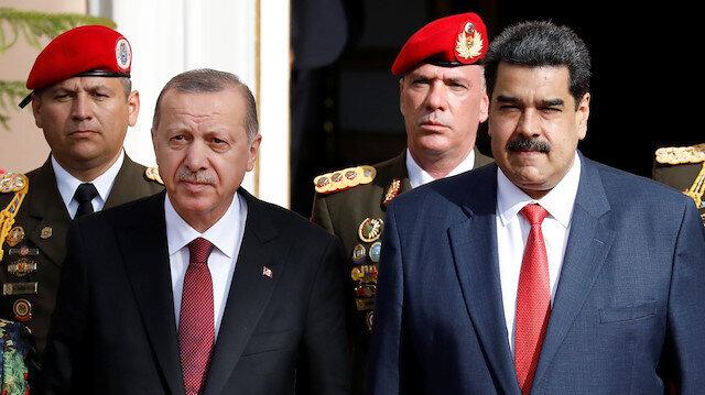 Erdoğan voices support for Venezuelan President Maduro