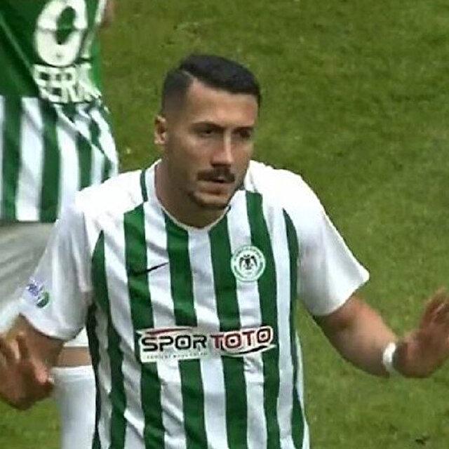 Konyaspor-Göztepe maçında Jahovic'i pişman ettiren penaltı