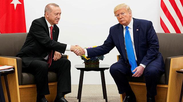 Erdoğan, Trump discuss latest developments in Syria