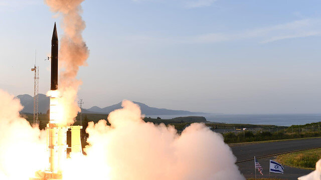 Israel strikes Gaza after rocket sirens force Netanyahu off stage