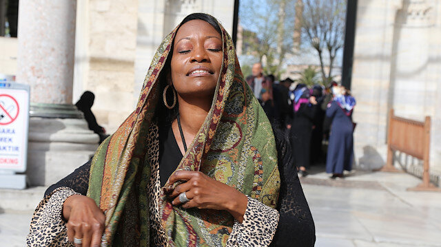 US jazz singer 'blessed' to be Muslim