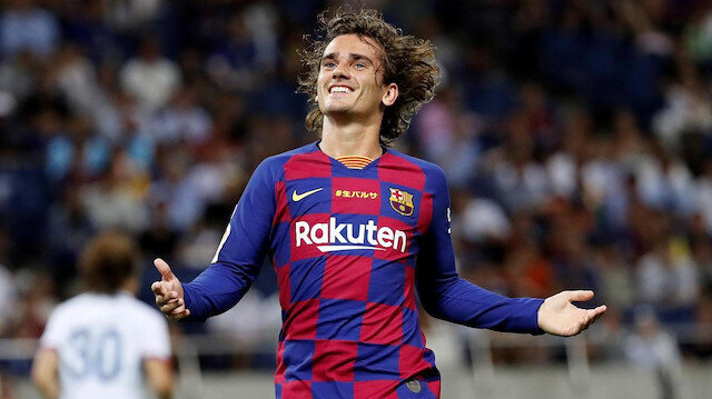 Barcelona'ya Griezmann transferinden dolayı ceza