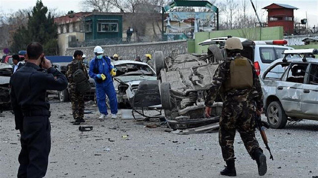 Suicide car bombing in Afghanistan kills two soldiers