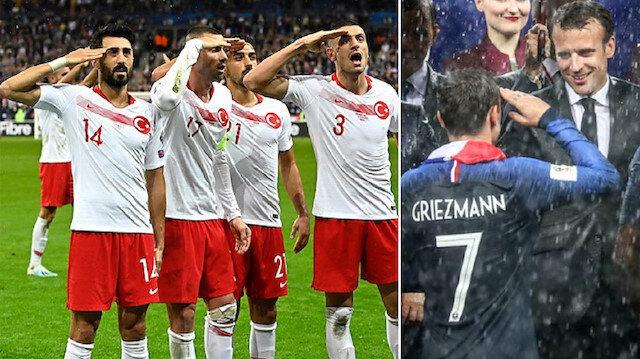 UEFA'nın çifte standardı: Asker selamı sadece Türk futbolculara yasak