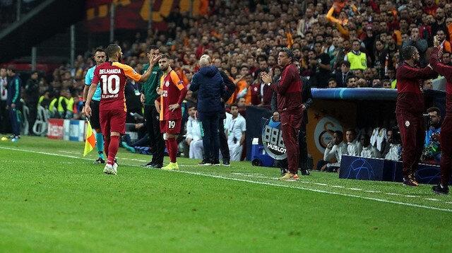 Younes Belhanda'dan Galatasaray taraftarına skandal hareket