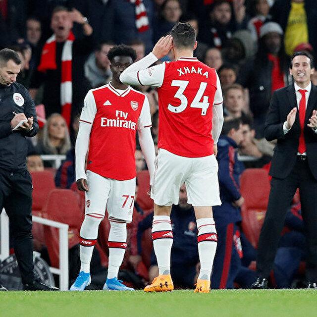 Arsenal'de Mesut Özil'den sonra Granit Xhaka krizi