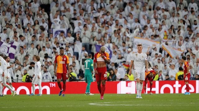 Real Madrid-Galatasaray: 6-0
