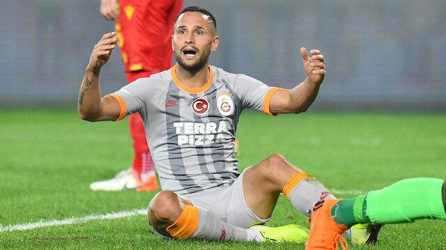 Galatasaray'da Andone sakatlandı
