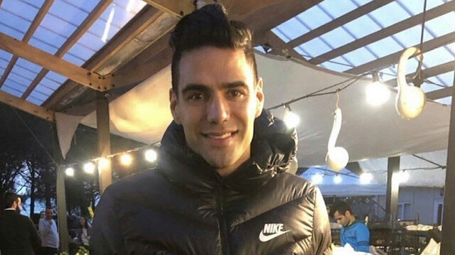 Falcao pazara çıktı sosyal medya yıkıldı