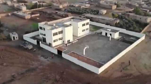 Turkish forces renovate school in northern Syria