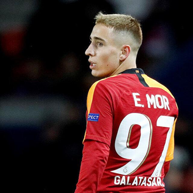 Messi benzetmeleri yapılan Emre Mor 'Galatasaray' şansını kullanamadı